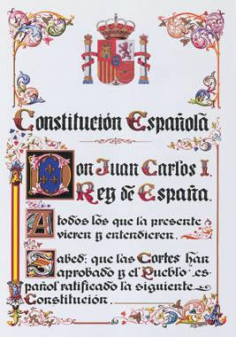La constitución y los estatutos